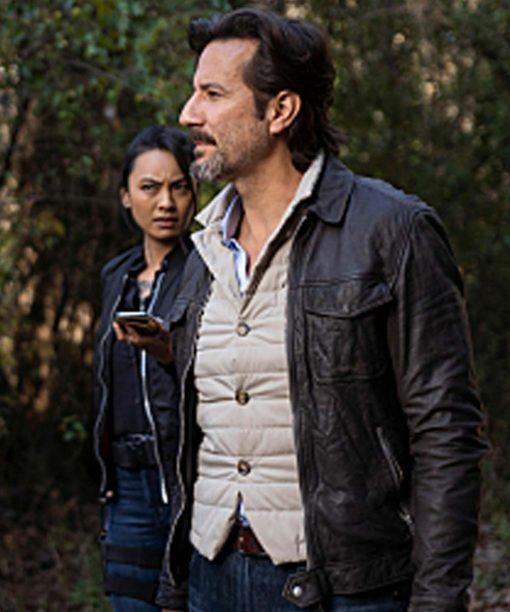 MacGyver S04 Henry Ian Cusick Leather Jacket