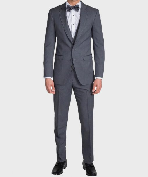 The Gentleman Notch Lapel Grey Suit