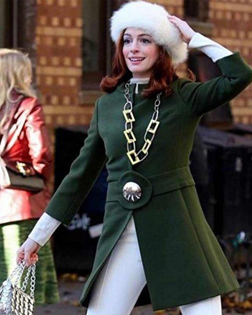 Anne Hathaway Modern Love Lexi Green Coat