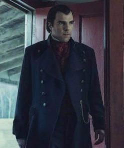 Zachary Quinto Blue NOS4A2 Charlie Manx Coat