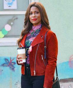 Single Parents Kimrie Lewis Suede Jacket