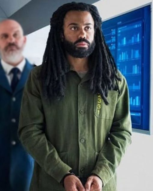Daveed Diggs Snowpiercer Andre Layton Green Jacket
