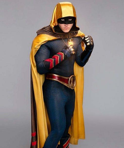 Lou Ferrigno Jr. Leather Stargirl Hourman Jacket