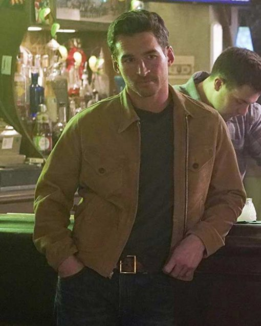 Station 19 S03 Jay Hayden Leather Jacket