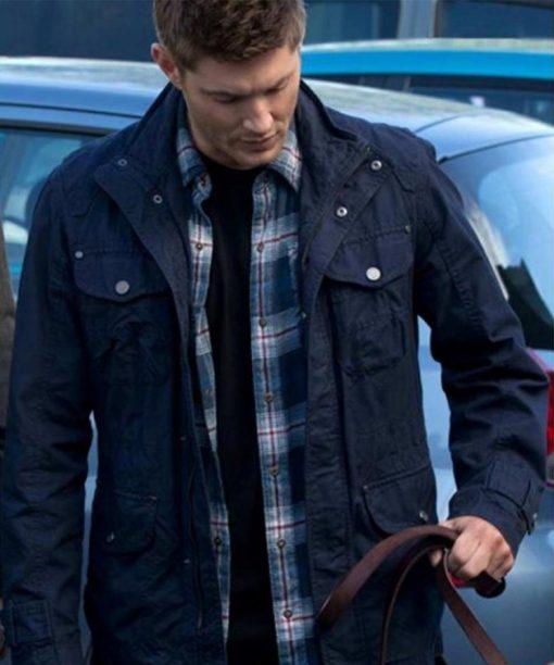 Dean Winchester Supernatural Blue Cotton Jacket