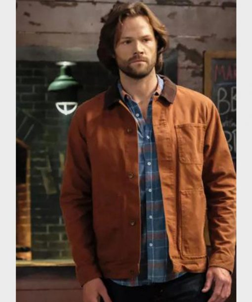 Supernatural Sam Winchester Brown Cotton Jacket