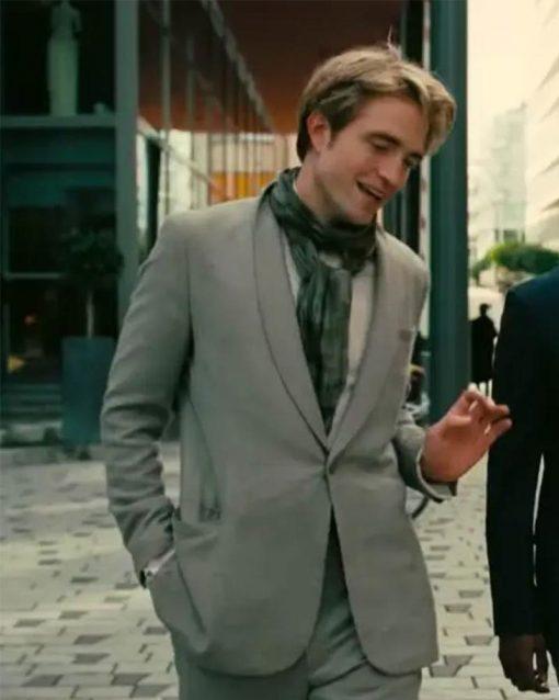 Tenet Robert Pattinson Neil Grey Blazer