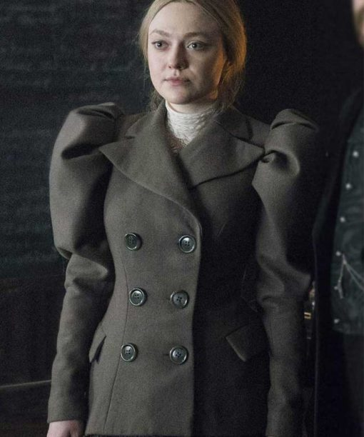 The Alienist Angel of Darkness Sara Howard Dakota Fanning Double-Breasted Jacket