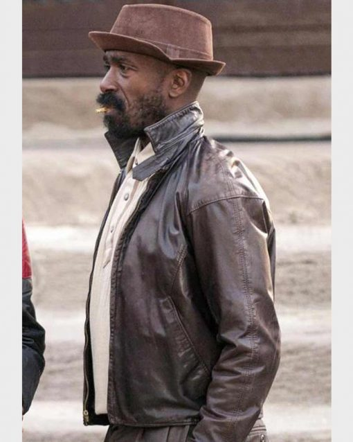 Barton Fitzpatrick The Chi Reg Taylor Brown Leather Jacket
