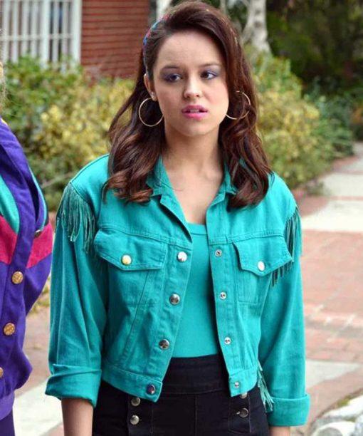 Hayley Orrantia Blue The Goldbergs S07 Erica Goldberg Jacket