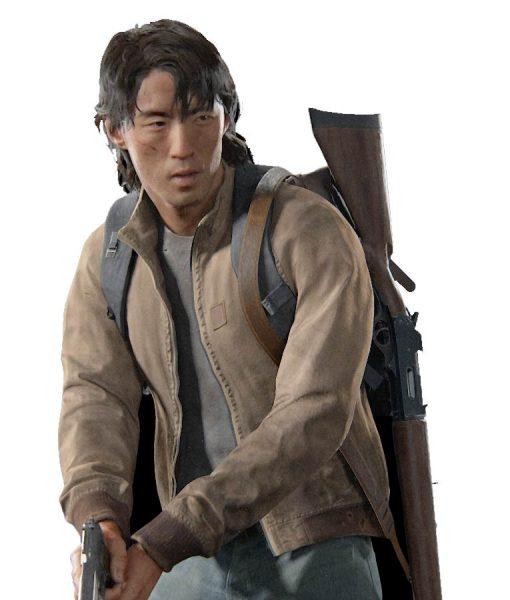 The Last Of Us Jesse Leather Bomber Jacket