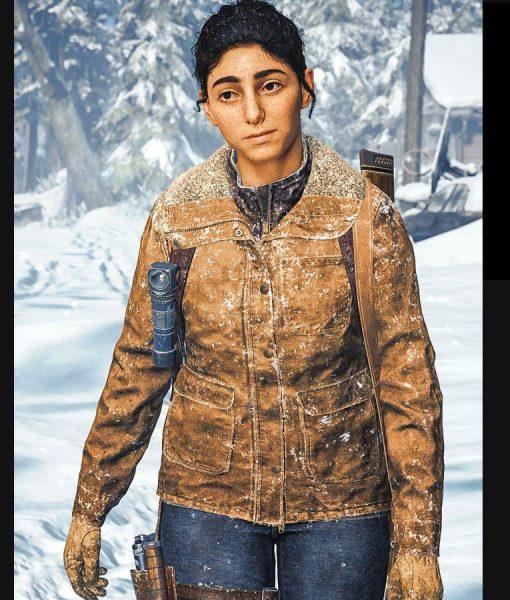 The Last of Us Brown Dina Jacket