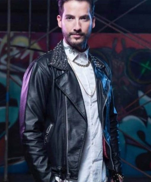 The Queen of Flow Carlos Torres Charly Flow Leather Jacket