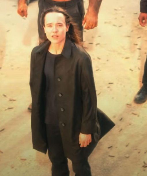 Ellen Page The Umbrella Academy S02 Vanya Hargreeves Coat