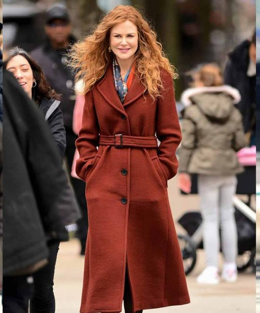 The Undoing Nicole Kidman Grace Sachs Brown Coat