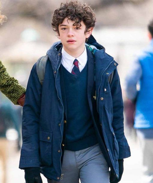 Noah Jupe The Undoing Henry Sachs Blue Jacket