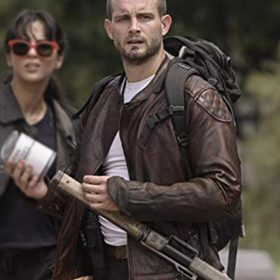 The Walking Dead World Beyond Felix Leather Jacket