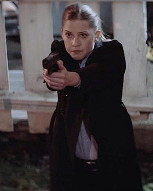Tammy Gillis Torn Dark Bullets Detective Omari Coat