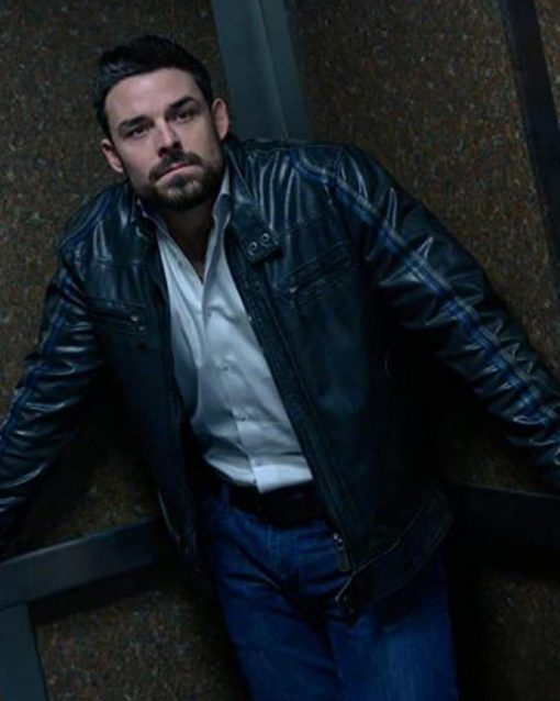 Torn Dark Bullets Jesse Hutch Leather Jacket