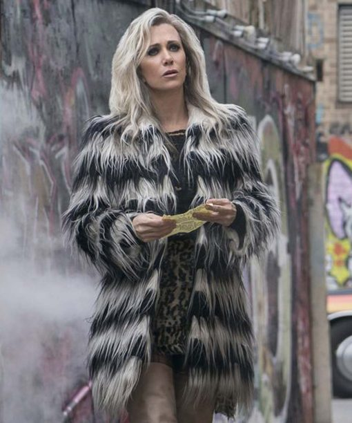 Barbara Minerva Wonder Woman 1984 Kristen Wiig Fur Coat