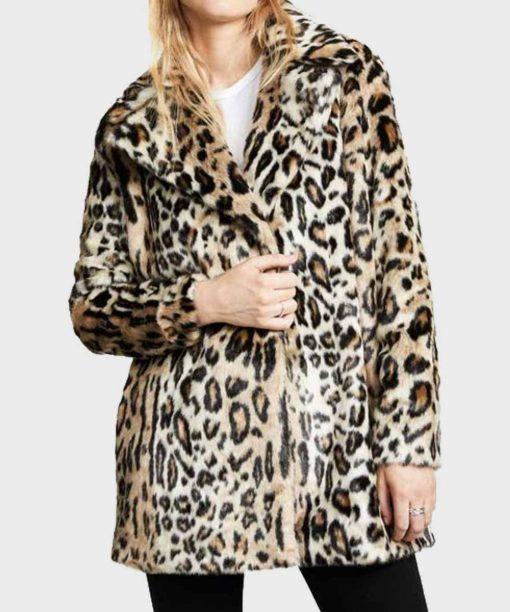 Yellowstone S02 Beth Dutton Fur Coat
