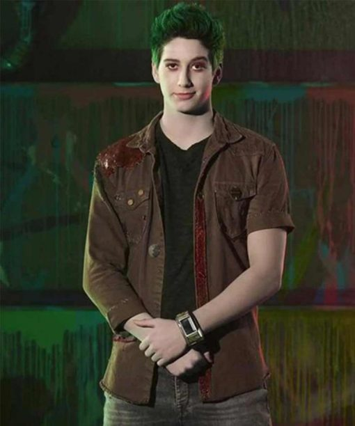 Milo Manheim Brown Zombies 2 Zed Denim Jacket
