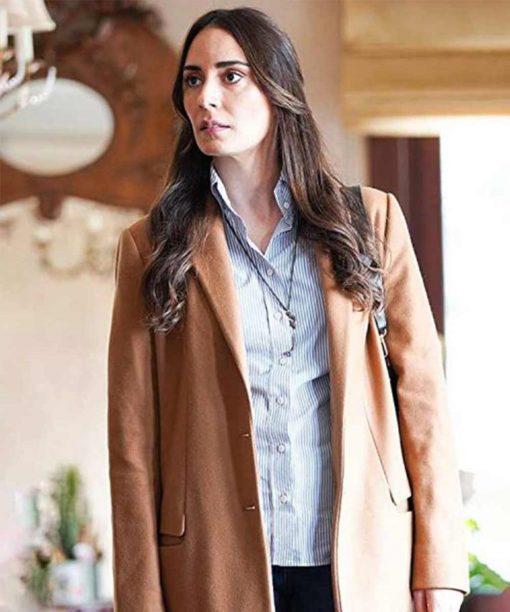 Melisa Sözen Alef Yasar Brown Trench Coat