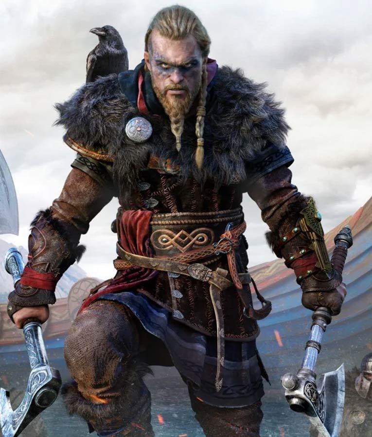 Valhalla Eivor Coat Assassin S Creed Coat With Fur Collar