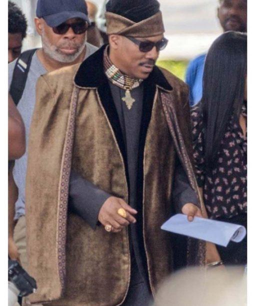Eddie Murphy Coming 2 America Suede Jacket