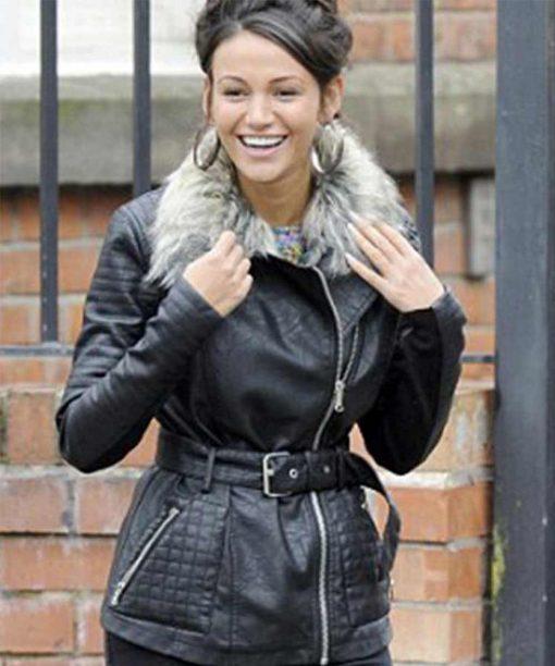 Coronation Street Michelle Keegan Tina McIntyre Leather Jacket