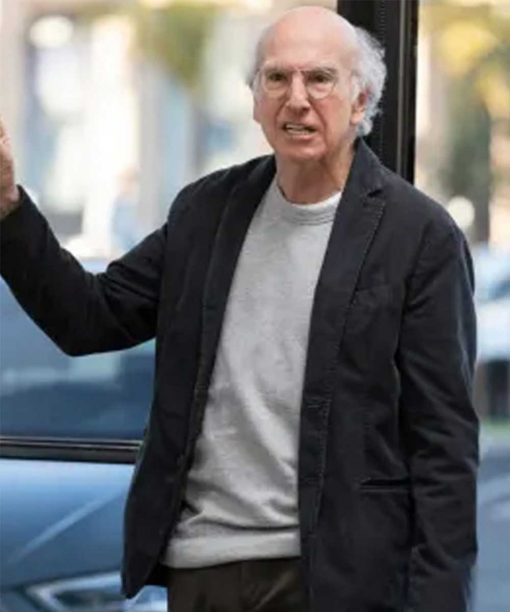 Curb Your Enthusiasm S10 Larry David Black Blazer