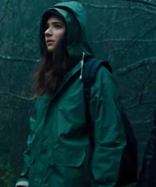 Curon Anna Ferzetti Jacket with Hood