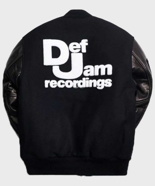 Def Jam Recordings Black Bomber Jacket