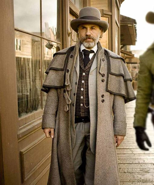Django Unchained Christoph Waltz Duster Coat