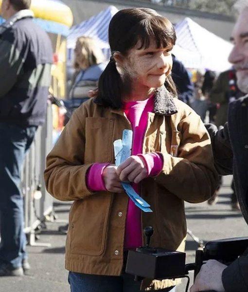 Doom Patrol S02 Dorothy Spinner Abigail Shapiro Brown Jacket
