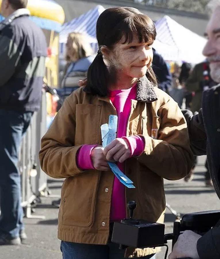 Doom Patrol S02 Dorothy Spinner Jacket Abigail Shapiro Brown Jacket
