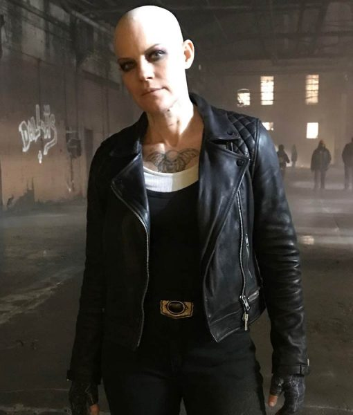 Stephanie Czajkowski Doom Patrol S02 Hammerhead Black Leather Jacket