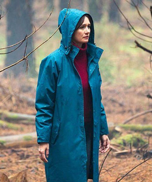 Emily Mortimer Relic Blue Coat