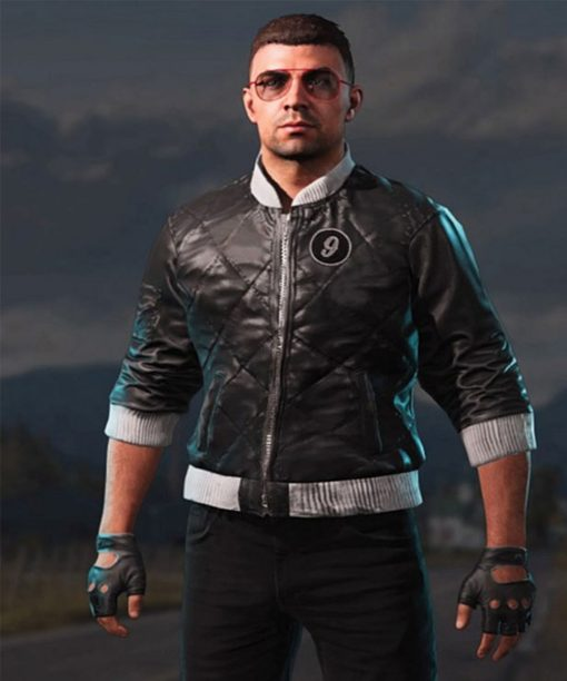 Video Game Far Cry 5 Viper Leather Jacket