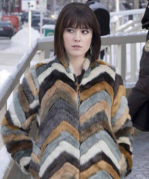 Fargo S03 Mary Elizabeth Winstead Fur Coat