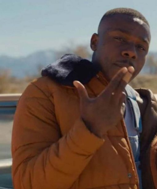 American Rapper DaBaby Song Find My Way Puffer Jacket