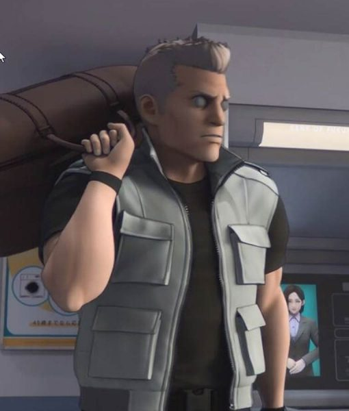Ghost In The Shell Sac_2045 Batou Four Pocket Vest