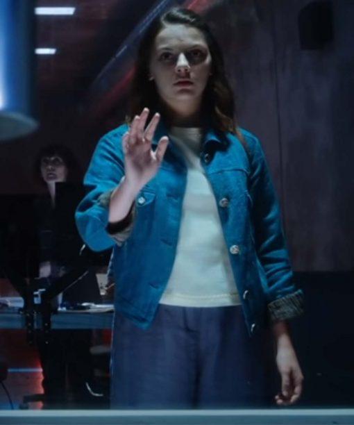 His Dark Materials S02 Lyra Belacqua Denim Jacket