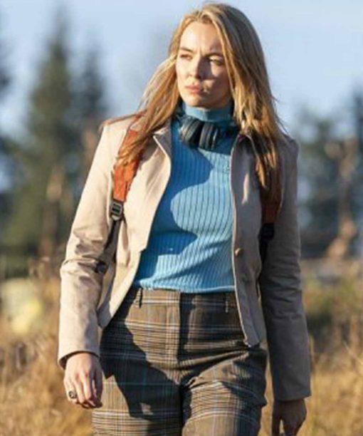 Jodie Comer Killing Eve S03 Villanelle Cotton Jacket