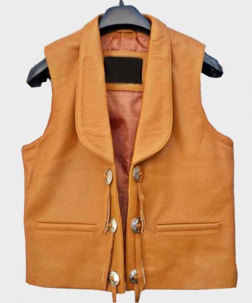 Ben Cartwright Tan Brown Vest