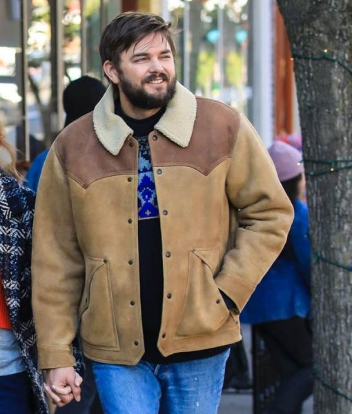 Love Life Nick Thune Magnus Brown Leather Jacket