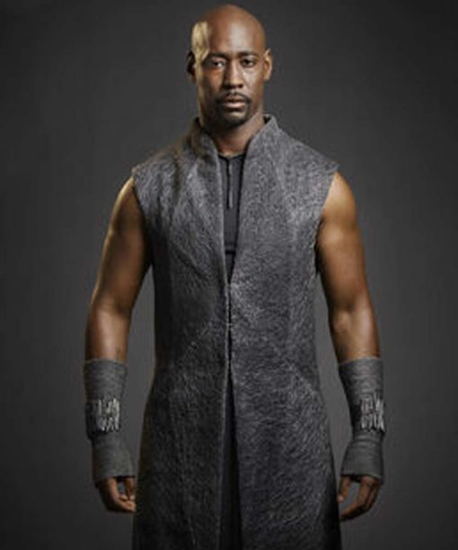 Lucifer D.B. Woodside Trench Coat