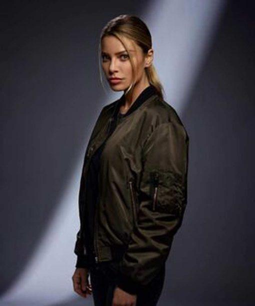 Lucifer Chloe Decker Lauren German Bomber Jacket