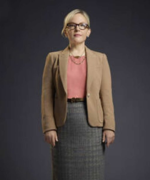 Lucifer S01 Rachael Harris Single Button Blazer