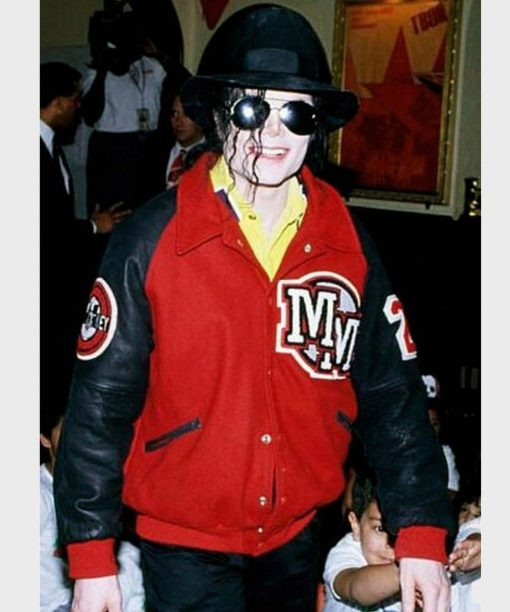 Michael Jackson Letterman Jacket
